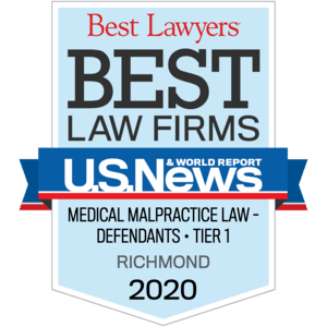Best lawyers, Best Law Firms - Medical Malpractice Law - Defendants Tier 1, Richmond 2018